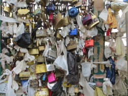 Love Locks at Park Güell