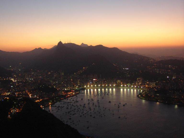Atardecer Rio4